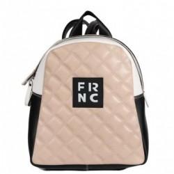 Τσάντα Γυναικεία Πλάτης FRNC 1202K Μπεζ