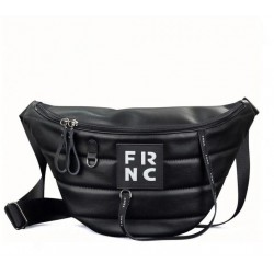 Τσαντάκι Μέσης/Χιαστί  Γυναικείο FRNC 2146 Μαύρο