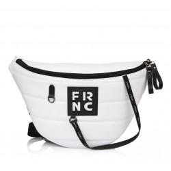 Τσαντάκι Μέσης/Χιαστί  Γυναικείο FRNC 2146 Λευκό