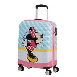Βαλίτσα Καμπίνας 55εκ. American Tourister Disney Wavebreaker Minnie Pink Kiss 85667-8623