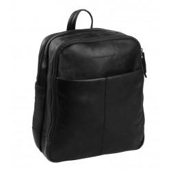 Τσάντα Πλάτης Δέρμα Laptop 15.6'' The Chesterfield Brand C58.017500 Μαύρο