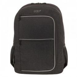Σακίδιο Πλάτης Laptop 15.6'' Polo Solido 901279 Μαύρο