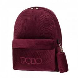 Σακίδιο Πλάτης Polo Limited Edition 901125 Μπορντώ