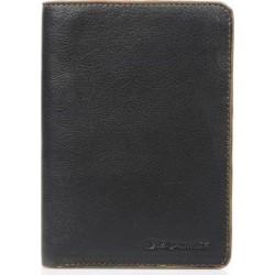 Πορτοφόλι Ανδρικό Δέρμα Diplomat MN413 Μαύρο/Ταμπά