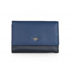 Πορτοφόλι Γυναικείο Δέρμα Forest 1012F Μπλε