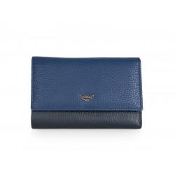 Πορτοφόλι Γυναικείο Δέρμα Forest 1002F Μπλε