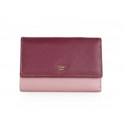Πορτοφόλι Γυναικείο Δέρμα Forest 1002F Μπορντώ/Ροζ