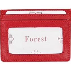 Καρτοθήκη Δέρμα Forest 1044 Κόκκινο