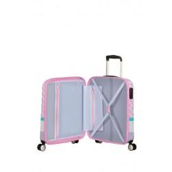 Βαλίτσα Καμπίνας 55εκ. American Tourister Wavebreaker Disney 85667-8660 Daisy Pink Kiss