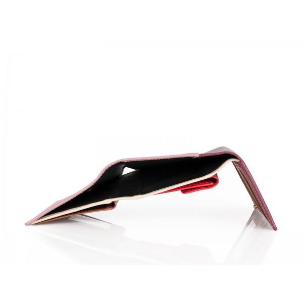 Πορτοφόλι Γυναικείο Δέρμα Forest 1012F Μπορντώ/Ροζ